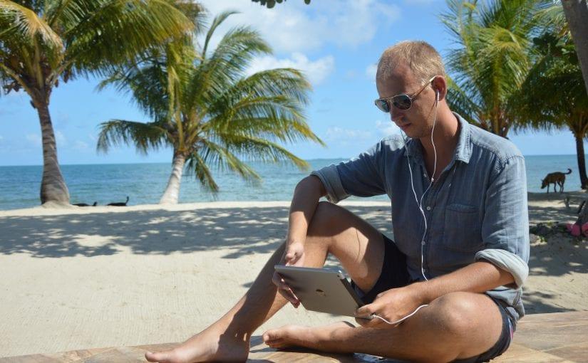 Dirk van der Vaart rondreizen